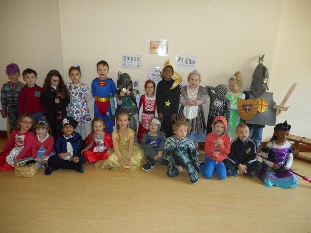 Senior Infants Room 7: World Book Day